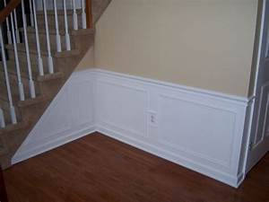 Hall and Stairway Trim Work - Low Maintenance Shadow Boxes
