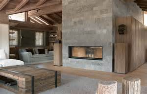 Fireplace Surround by Thurnbichlweg Chalet Beautiful Interiors Modern Cabins