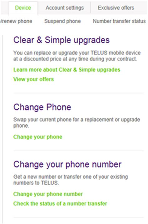 change my phone number solved re can i change my cell phone number telus