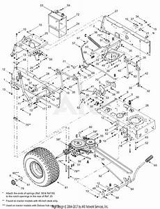 Mtd 13at688h731  2004  Parts Diagram For Frame  Controls