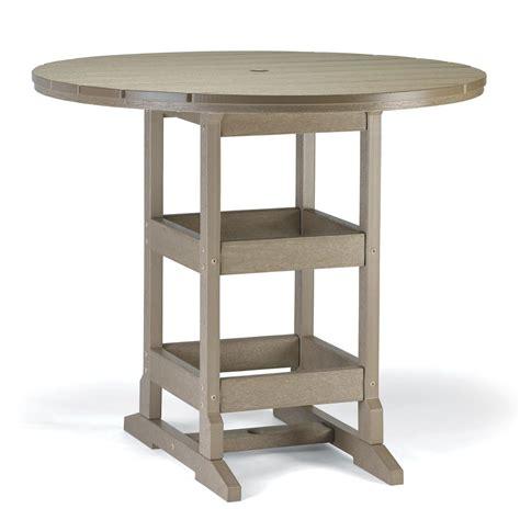 round bar height table 48 inch round bar height table breezesta sku brz