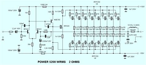 This The Circuit Design Mosfet Power Amplifier