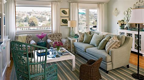 bloombety blue living room cottage 100 comfy cottage rooms coastal living