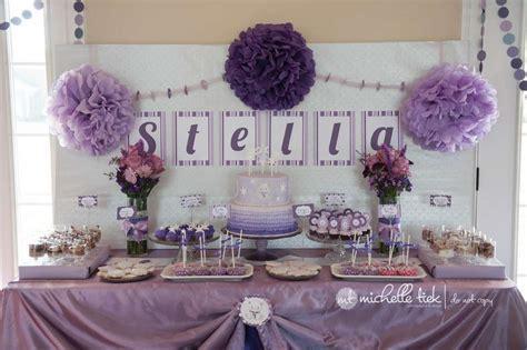 purple polar bear 1st birthday party birthday party ideas photo 1 of 25 catch my party