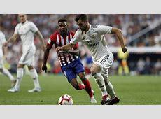 Real Madrid 00 Atlético LaLiga 201819 derby result