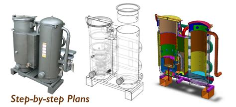 wood gasifier plans   grid  good  fuel   wood