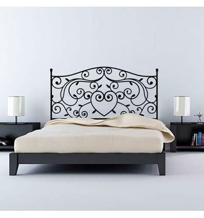 vinilo decorativo cabecero de cama vintage