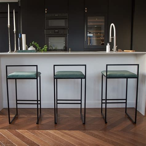 Modern dining chairs can be made of wood, metal, plastic, or upholstery and come in a large variety of colors ranging from neutral palettes to more bold colors to add an accent to the dining room. Nordic Bar Stools Fashion Modern Minimalist Bar High Bar ...