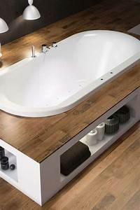 Habillage Baignoire Bois : entourage de baignoire maison design ~ Premium-room.com Idées de Décoration