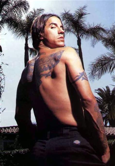 anthony kiedis tattoos  arms