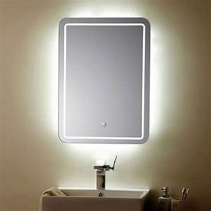 awesome miroir salle de bain led contemporary awesome With miroir led design