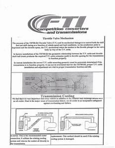 700r4 Transmission Installation Instructions