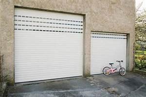 atoutbaie vannes articles With porte de garage enroulable avec porte intérieure 2 vantaux