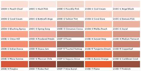 behr paint codes for mexican inspired colors mexican