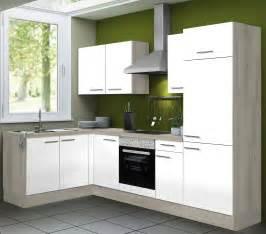 eckküche mit elektrogeräten eckküche vario 1 1 küche mit e geräten breite 270 x 165 cm weiß küche küchenzeilen