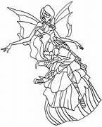 Winx Club Harmonix Coloring Pages