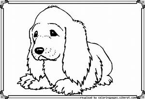d dogs coloring pages
