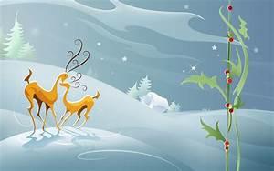 1680x1050 Reindeers Love desktop PC and Mac wallpaper