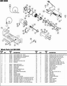 Ramsey Winch Qm 8000 Parts