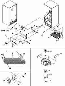 Evaporator Area  U0026 Rollers Diagram  U0026 Parts List For Model