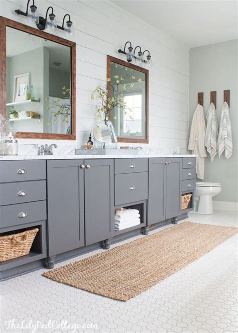 grey bathroom vanity ideas  pinterest gold