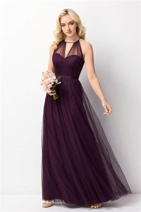 eggplant colored dress best 20 eggplant bridesmaid dresses ideas on