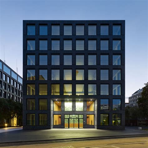 building design herostrasse office building max dudler archdaily