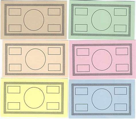 printable play money blank monopoly money template