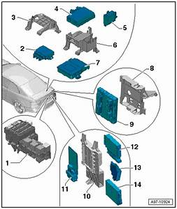 Audi Workshop Manuals  U0026gt  A5  U0026gt  Vehicle Electrics
