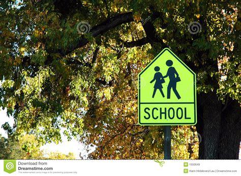 School Crossing Royalty-free Illustration