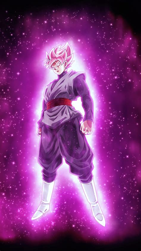 wallpaper super saiyan rose goku black dragon ball super