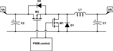available synchronous buck converter chips are bidirectional current electrical engineering