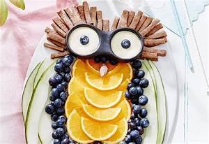Obst Mit L : obst eule mit kekssticks und wei em schokodip frisch gekocht ~ Buech-reservation.com Haus und Dekorationen