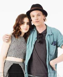 EW Photoshoot with Lily Collins & Jamie Campbell Bower at ...
