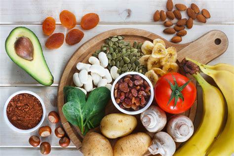 alimenti ricchi  potassio da includere nella dieta