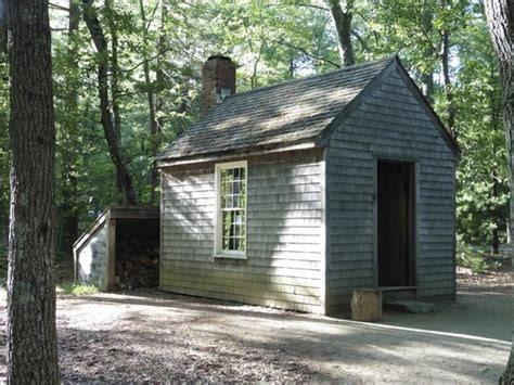 Walden Essays  Cfcpoland Replica Of Thoreaus Cabin At Walden Pond Picture Of