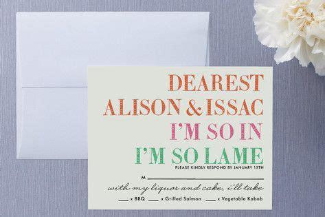pin  wedding rsvp invitation card ideas
