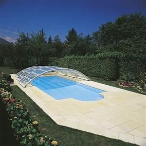 Abri Haut Piscine : les abris de piscine desjoyaux bas haut et mi haut ~ Premium-room.com Idées de Décoration