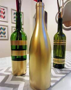 Basteln Mit Glasflaschen : upcycling hit alte glasflaschen als deko ~ Watch28wear.com Haus und Dekorationen