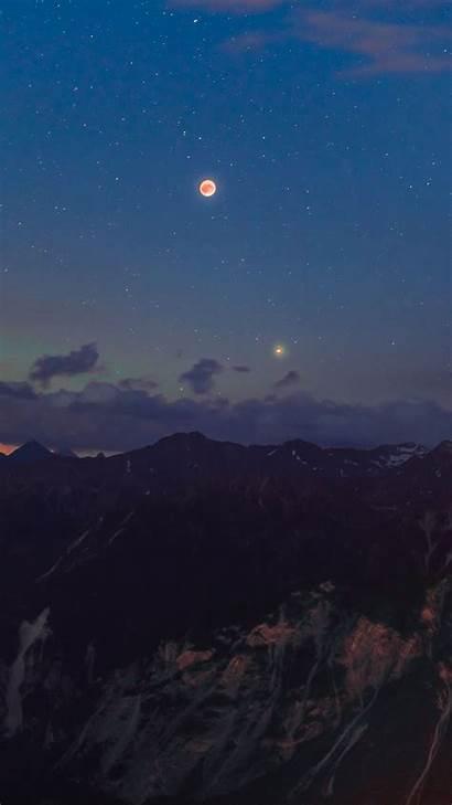 Langit Malam Bulan Piqsels Menakjubkan Gambar Halaman