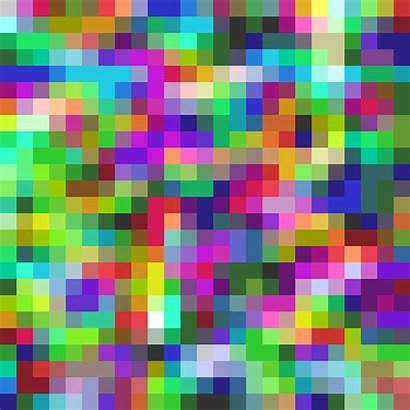 Rainbow Colorful Pixels Animated Colors Neon Noise