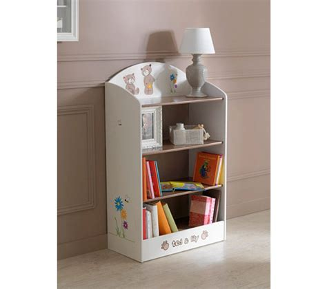 bibliotheque chambre enfant biblioth 232 que enfant tedly blanc et beige petits meubles but