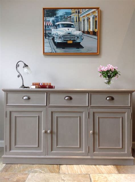 Kitchen Sideboard by Now Sold Rustic Painted Grey Pine Country Sideboard