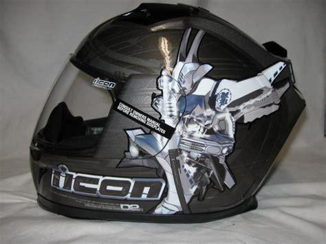 Icon Domain 2 Sha_do Full-face Motorcycle Helmet Med