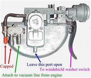Windshield Wiper Motor Installation