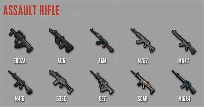 Pubg Mobile Weapon Assault Rifle Stats Rifles