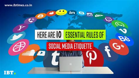 essential rules  social media etiquette video