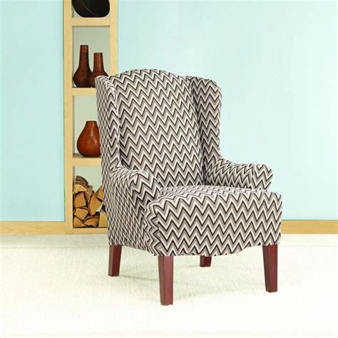 Wingback Recliner Slipcover by Wingback Chair Slipcover Pattern Wingback Chair