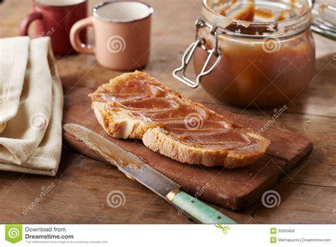 Dessert Creme De Marron by Toast With Creme De Marrons Stock Photo Image 35005858