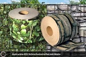 Sichtschutz Für Metallzaun : pes motiv sichtschutz ~ Whattoseeinmadrid.com Haus und Dekorationen